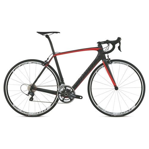 Specialized Tarmac Expert Cen Silver/Rocket Red/Black 2015