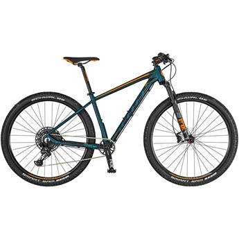 Scott Aspect 900 Cobalt Green/Orange 2019