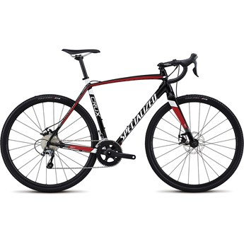 Specialized Crux E5 Tarmac Black/Flo Red/Metallic White