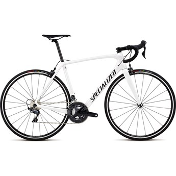Specialized Tarmac Men SL5 Comp Metalic White Silver/Satin Black/Clean