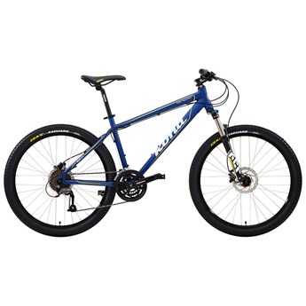 Kona Fire Mountain Matt Blue with Grey, Yellow and Black