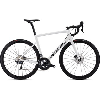 Specialized Tarmac Men SL6 Expert Disc White/Blue Ghost Pearl/Satin Black/Clean 2019
