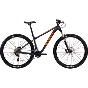 Kona Kahuna DDL Matt Charcoal with Team Orange and Purple Decals