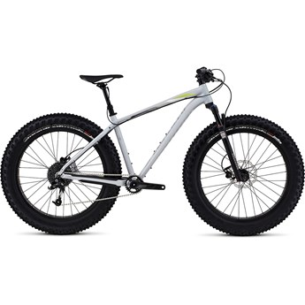 Specialized Fatboy Trail Satin Filthy White/Hyper Green/Grey Fade