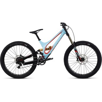 Specialized Demo 8 FSR I Carbon 650B Gloss Light Blue/Nordic Red 2017