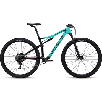 Specialized Epic Womens Comp Carbon 29 Gloss Satin Acid Mint Fade To Tarmac Black/Acid Pink