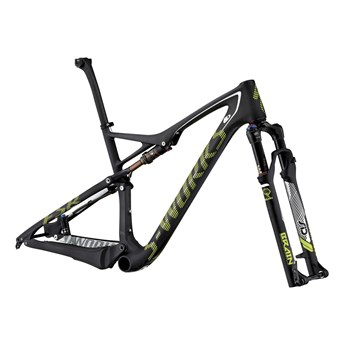 Specialized S-Works Epic FSR Carbon WC 29 Frameset (Rampaket) Carbon/Hyper Green/White