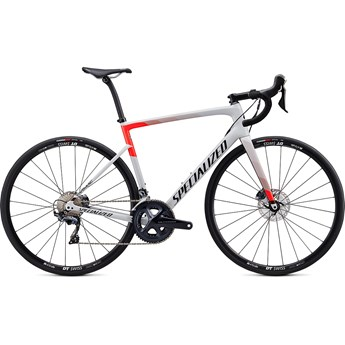 Specialized Tarmac SL6 Comp Disc Gloss Dove Grey/Rocket Red/Tarmac Black