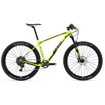 Giant XtC Advanced SL 27.5 1 Lime/Black 2016
