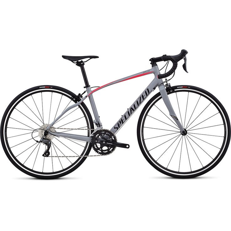 Specialized Dolce Cool Gray/Acid Pink