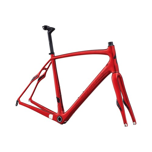Specialized S-Works Roubaix SL4 Bara Ram (Frameset) CandyRöd/Svart