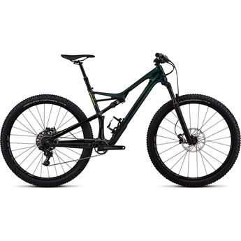 Specialized Camber FSR Men Comp Carbon 29 1-X Gloss Cavendish Green/Hyper Green Clean 2018