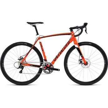 Specialized Crux E5 Gloss Mx Orange/Tarmac Black/White/Red