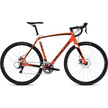 Specialized Crux E5 Gloss Mx Orange/Tarmac Black/White/Red