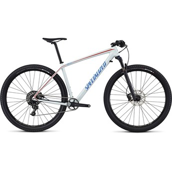 Specialized Epic Hardtail Comp Carbon WC 29 Gloss Baby Blue/Neon Blue/Nordic Red