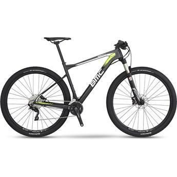 BMC Teamelite 02 SLX/XT Materialfärg, Vit och Gul 2016