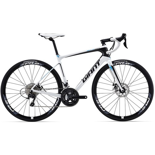 Giant Defy Advanced 2 White/Black/Blue 2016