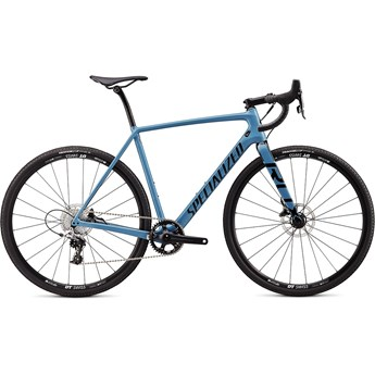 Specialized Crux Elite Gloss Storm Grey/Tarmac Black