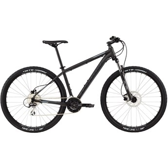 Cannondale Trail 6 Nearly Black with Charcoal Gray and Jet Black, Matte
