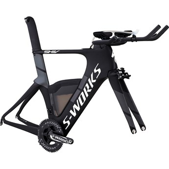Specialized S-Works Shiv Module Satin-Gloss Carbon/White/Charcoal