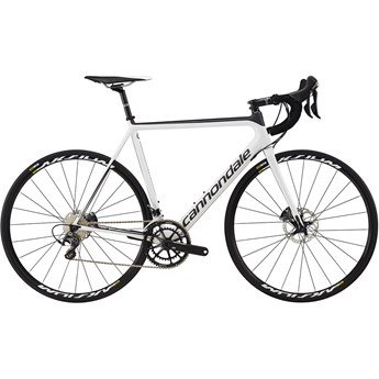 Cannondale SuperSix EVO Hi-Mod Disc Ultegra Cashmere with Nearly Black, Satin