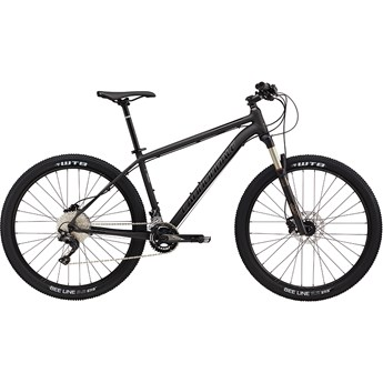 Cannondale Trail 1 Matte Nearly Black with Gloss Jet Black and Fine Silver