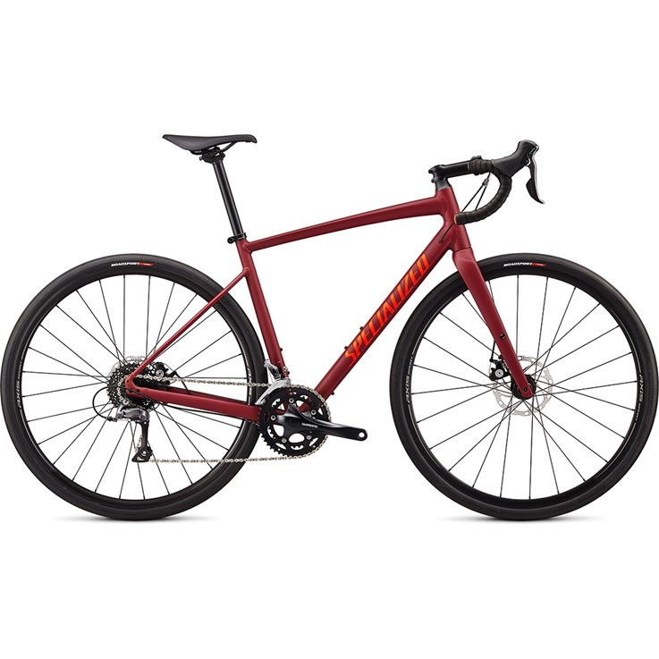 Specialized Diverge E5 Satin Crimson/Rocket Red Clean 2020