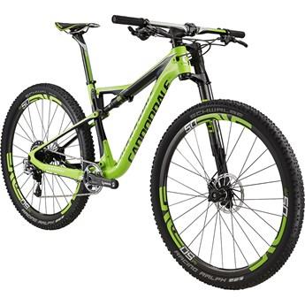 Cannondale Scalpel-Si Hi-Mod Team Berzerker Green with Jet Black and Chrome, Gloss