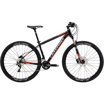 Cannondale Trail 2 Midnight Blue with Fine Silver and Acid Red, Gloss
