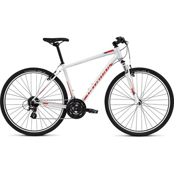 Specialized Crosstrail Dirty White/Rocket Red/Cyan