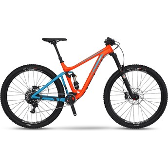 BMC Trailfox 03 X1 Orange och Blå 2016