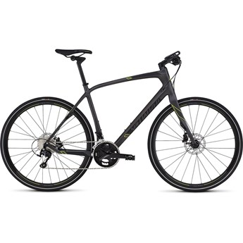 Specialized Sirrus Expert Carbon Black/Charcoal/Hyper Green Keyline