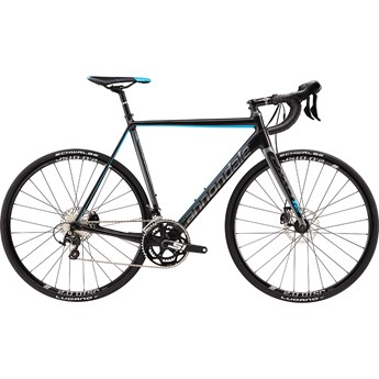 Cannondale CAAD12 Disc 105 Matte Jet Black with Charcoal Grey, Gloss Ultra Blue