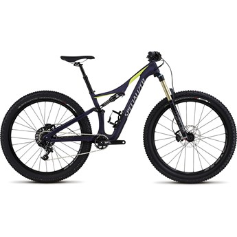 Specialized Rhyme FSR Comp Carbon 6Fattie Satin Deep Indigo/Hyper Green/Cool Grey