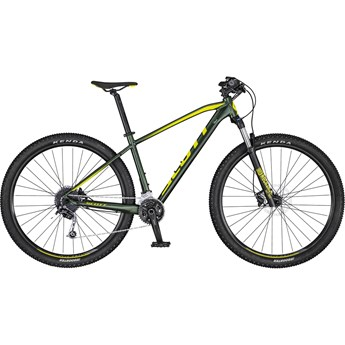 Scott Aspect 930 Dark Green/Yellow 2020