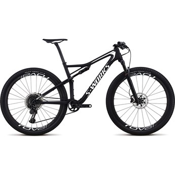 Specialized S-Works Epic Men Carbon SRAM 29 Satin Gloss Black/Metallic White Silver 2018