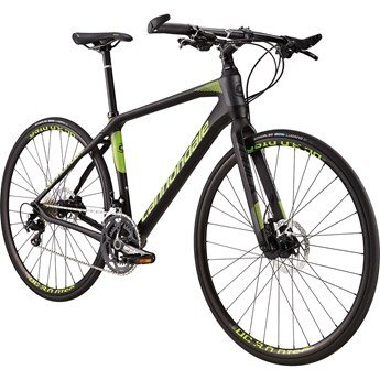 Cannondale Quick Carbon 1 Jet Black with Berserker Green, Charcoal Grey, Matte