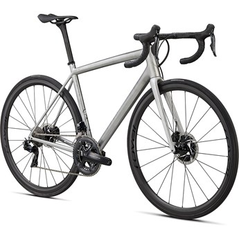 Specialized S-Works Aethos Founders Edition Satin Brushed Liquid Silver/Holographic