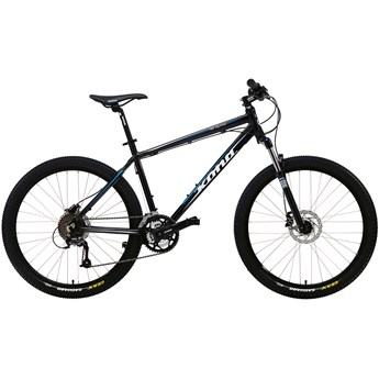 Kona Fire Mountain Black with White, Blue and Grey