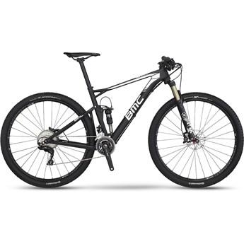 BMC Fourstroke 02 XT Materialfärg och Vit 2016