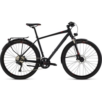 Specialized Crossover Expert Disc Satin Black/Gloss Black/Red