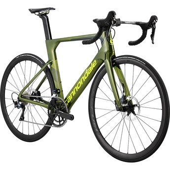 Cannondale SystemSix Carbon Ultegra Grön 2019