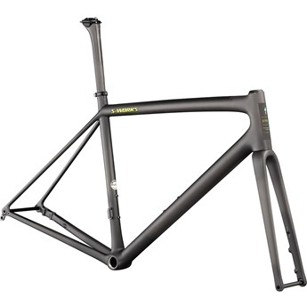 Specialized S-Works Aethos Frameset Satin Carbon/Jet Fuel 2021