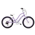 "Electra Townie Kids 7D 20"" Lilac Girls"