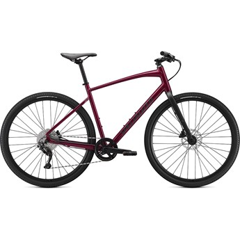 Specialized Sirrus X 3.0 Gloss Raspberry/Tarmac Black/Satin Black Reflective 2021