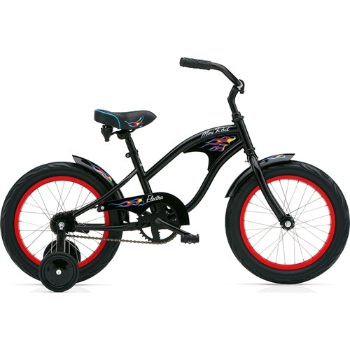 Electra Mini Rod 1 16'' Boy's Black 2015