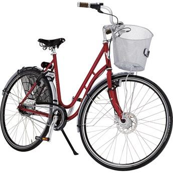 Skeppshult Natur Sport 8 Vintage Red Damcykel