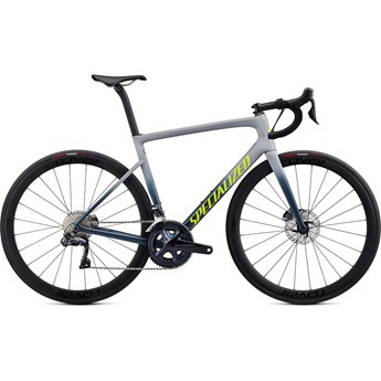 Specialized Tarmac SL6 Expert Disc Udi2 Satin Cool Grey/Cast Battleship/Team Yellow 2020