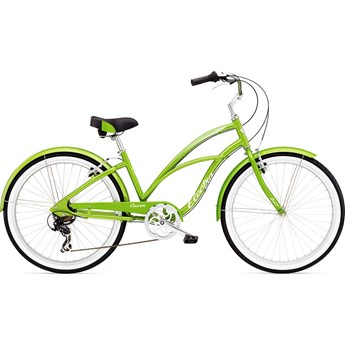 Electra Cruiser Lux 7d Green Metallic Dam