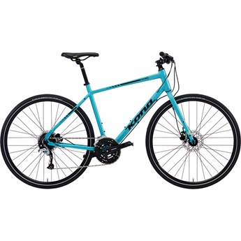 Kona Dew Plus Aqua with Yellow and Black Decals 2018